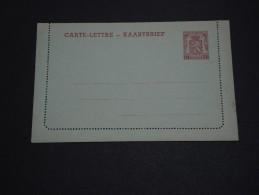 BELGIQUE - Entier Postal Non Voyagé - A Voir - L 2324 - Cartas-Letras