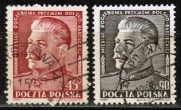 PL 1951 MI 707-08 USED - Used Stamps