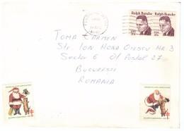 STORIA POSTALE - USA - UNITED STATES OF AMERICA - ANNO 1982 - FLUSHING - NEW YORK - PER TOMA CARMEN - ROMANIA - BUCAREST - America Centrale