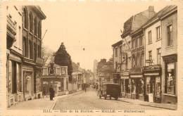 Halle - Hal - Rue De La Station - Halle