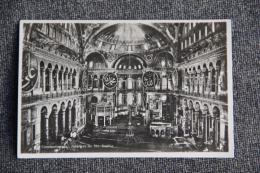 CONSTANTINOPLE - Intérieur De Sainte SOPHIE - Turquie
