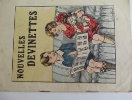 Image/Nouvelles Devinettes /6 Pages Recto De 4 Devinettes Illustrées Chacune// Vers 1930 - 1940   JE179 - Other