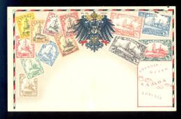 Samoa Nr. 100 / Postcard Not Circulated - Timbres (représentations)