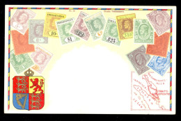 Straits Settlements Nr. 90 / Postcard Not Circulated - Timbres (représentations)