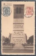 CPA BELGIQUE - Quaregnon, Vieille Tour Et Monument - Quaregnon