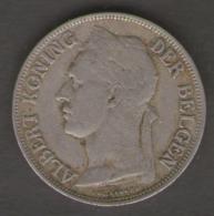 CONGO BELGE 1 FRANC 1924 - 1910-1934: Alberto I