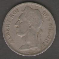 CONGO BELGE 1 FRANC 1927 - 1910-1934: Alberto I