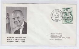Togo SPACE ASTRONAUT JOHN H. GLENN FDC 1962 - FDC & Commemorrativi