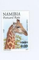 Namibie 2006-Girafe-timbre Surchargé-YT 1077***MNH