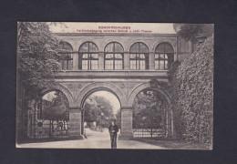 AK Sondershausen Verbindungsgang Zwischen Schloss U. Hof.- Theater Feldpost Ers. Batl. Landw. Ihf. Rgt 71 2. Komp. - Sondershausen