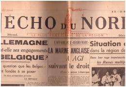 N 25 Grand écho Du Nord De La FRANCE   24 Janvier  1940 Salla - 1950 - Heute