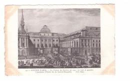 75 Série Ancien Paris N°141 Le Palais De Jsutice En 1790 A Gauche Fleche Ancienne Chapelle - Arrondissement: 01