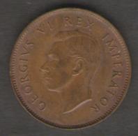 SUD AFRICA 1/4 PENNY 1946 - Sud Africa