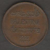 PALESTINA 2 MILS 1927 - Israele
