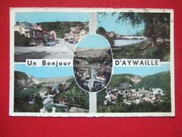 BELGIQUE - AYWAILLE - UN BONJOUR D'AYWAILLE - CARTE MULTI-VUES - - Aywaille