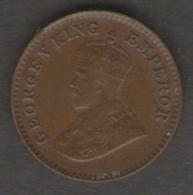 INDIA 1/12 ANNA 1924 - India