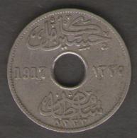 EGITTO 5 MILLIEMES 1917 - Egitto