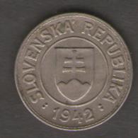 SLOVACCHIA 1 KORUNA 1942 - Slovacchia