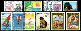 WALLIS ET FUTUNA Année Complète 1983 / PA - Yv. PA 122 à 131 ** TB  Cote= 48,80 EUR - 10 Timbres ..Réf.W&F21703 - Airmail