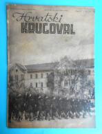 WW2 - CROATIA ( NDH ) - USTASE & POGLAVNIK DR. ANTE PAVELIC Original Vintage Magazine Hrvatski Krugovall (1942) Kroatien - 1939-45