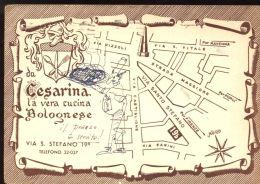 B2196 BOLOGNA - DA CESARINA, LA VERA CUCINA BOLOGNESE - VIA SANTO STEFANO 19 - Bologna