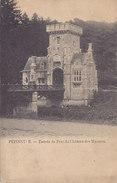 Pepinster - Entrée Du Parc Du Château Des Mazures (1912) - Pepinster