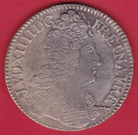 France Ecu Louis XIIII 1709 H - La Rochelle - TTB - 987-1789 Monnaies Royales
