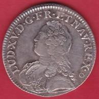 France Ecu Louis XV 1732 E - Tours - TTB - 987-1789 Royal