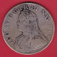 France Ecu Louis XV 1726 A - Paris - TB - 1715-1774 Louis XV Le Bien-Aimé