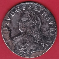 France Ecu Louis XV 1726 S - Reims - TB - 987-1789 Royal