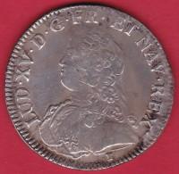 """France Ecu Louis XV 1729 """"9"""" - Rennes - TB/TTB - 1715-1774 Louis XV Le Bien-Aimé"""