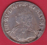 "France Ecu Louis XV 1729 ""9"" - Rennes - TB/TTB - 987-1789 Royal"