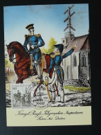 083-06 Telegraphie Optique Optical Telegraphy Post Cheval Horse Postmuseum Karte Carte Maximum Card Berlin 1983 - Télécom