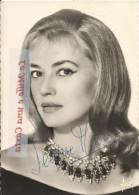 Cinema _ ATTORI FRANCESI _ SIGNATURE _ AUTOGRAFO ORIGINALE SU FOTOGRAFIA DI JEANNE MOREAU _ Anni '50 O Anni '60 - Autografi