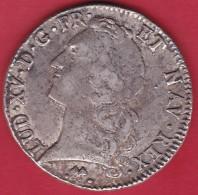 France Ecu Louis XV 1768 L - Bayonne - TB - 987-1789 Royal