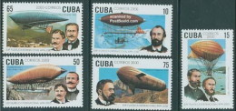 Cuba 3868/3872 ** MNH. 2000 - Unused Stamps
