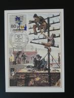 05/09 Telephone Wohlfahrtspflege Postmuseum Karte Carte Maximum Card Berlin 1990 - Télécom