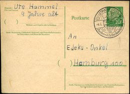 12986  Germany, Special Postmark 1957  Letmathe, Dechenhohle   Grotte, Cave, Holhe - Autres