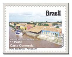 Brazil 2011 Piauí Porto Das Barcas – Parnaiba Port Hafen Harbour Ship MNH ** - Brazil