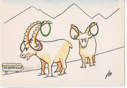 Editions Des  Escargophiles - Illustrateur JER - ALBERTVILLE QUELLE JOIE - Collection 1991 N°126 - Sizi