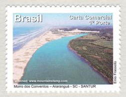 Brazil 2012 Santa Catarina Morro Dos Conventos – Araranguá Beach Strand MNH ** - Unused Stamps
