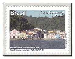 Brazil 2011 Santa Catarina São Francisco Do Sul Landscape MNH ** - Unused Stamps