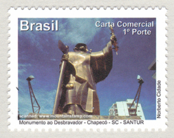 Brazil 2011 Santa Catarina Monumento Ao Destravador – Chapecó Monument Statue Denkmal MNH ** - Ungebraucht
