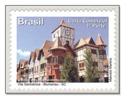 Brazil 2011 Santa Catarina Vila Germânica – Blumenau Germany Deutschland MNH ** - Unused Stamps