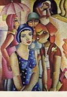 Pub  Art  Peinture  Transport - VASP  Lignes Aérienne Brésiliennes  Paris - Emiliano Di Cavalcanti - Postcards