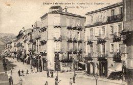 [DC9672] CPA - REGGIO CALABRIA PRIMA DEL DISASTRO DEL 21-12-08 PIAZZETTA S. FILIPPO - Non Viaggiata - Old Postcard - Reggio Calabria