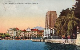 [DC9674] CPA - LAGO MAGGIORE - PALLANZA - MAUSOLEO CADORNA - Viaggiata - Old Postcard - Verbania
