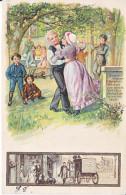 LA NOCE . ILLUSTRATION - DOS UNIQUE - 3.08.1902 - TTB - PETIT CARTOUCHE AVEC SORTIE DE L'EGLISE ET CALECHE -RRR - Noces