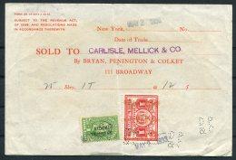 1933 USA Carlisle, Mellick & Co. New York Share Stock Transfer PERFIN, Bryan, Pennington & Co. - Revenues