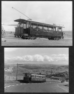 1955/85 GB Wales Great Orme  Railway / Tramway 2 Photographs - Eisenbahnverkehr